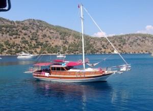Luxury gulets in Turkey